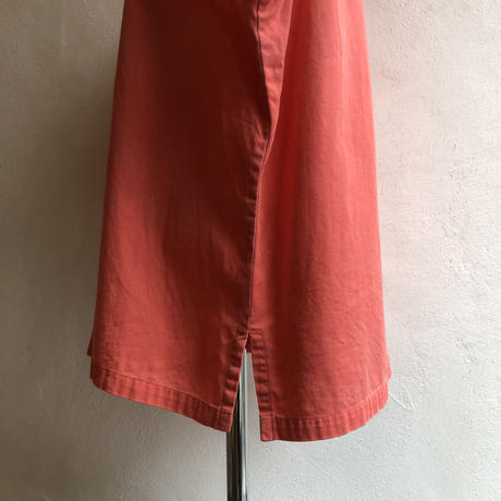 lady's sleeve less China button  design blouse