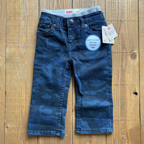 kids LEVI'S dead stock camouflage denim(12month/80cm)