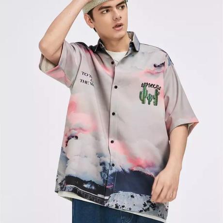 WOSS.official/ oversize caktus shirts
