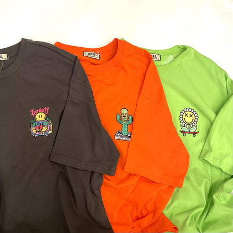 WOSS.official/Oversized emboidery Tshirts