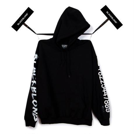 BLACK BLOND/CUSTOM Hoodie (BLACK)