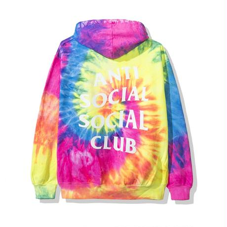 Anti Social Social Club/FLAME Logo フーディー Tie  dye