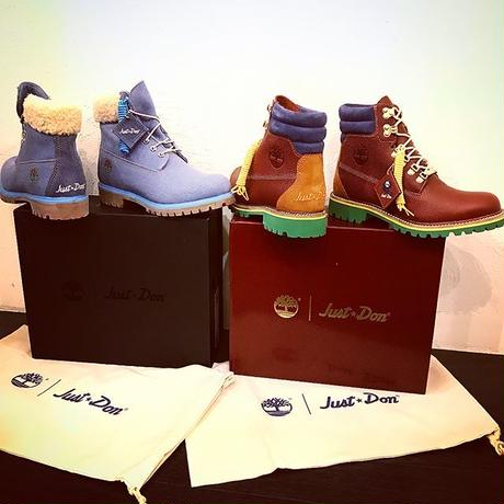 JUST DON× Timberland/DENIM BOOT