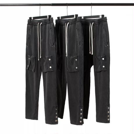 WOSS.official/Snap Cargo Pants   vintage black