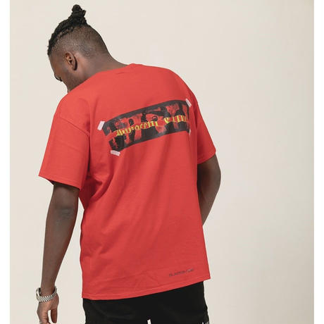 BLACK BLOND/Crime Tee RED