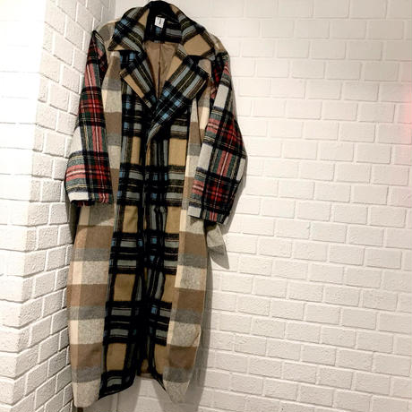 COLLUSION Studios /LONG WOOL Coat