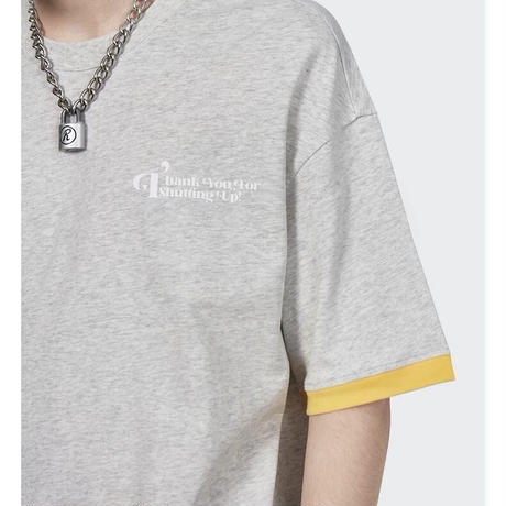 WOSS.official/Oversized layered Tshirts