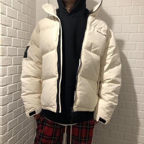 BLACK BLOND/BB Logo Down Jacket CREAM