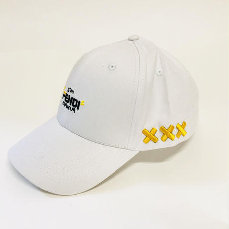 "Mismatch NYC/ ""MANIA"" Cap  White"