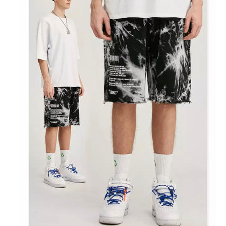 WOSS.official/TIE dye shorts