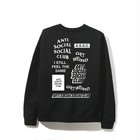 Anti Social Social Club/SS新作 Long Sleeve Tee ブラック