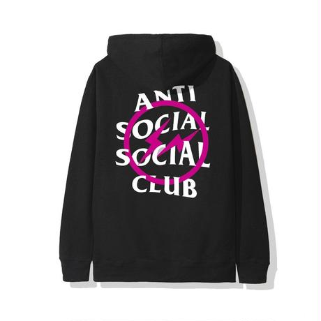 Anti Social Social Club× Fragment Design /Hoodie  PINK