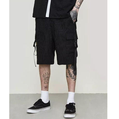 WOSS.official/Stripe Shorts