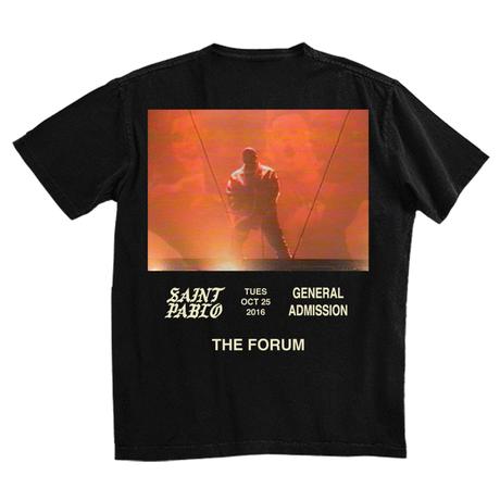 Saint Pablo Tour/Official Tour Tshirt