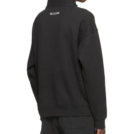 "ESSENTIALS  fear of god /HALF ZIP pullover ""BLACK"""