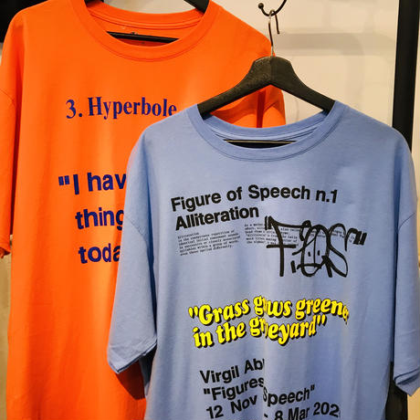 Virgil Abloh/Canary Yellow  Tshirts  BLUE