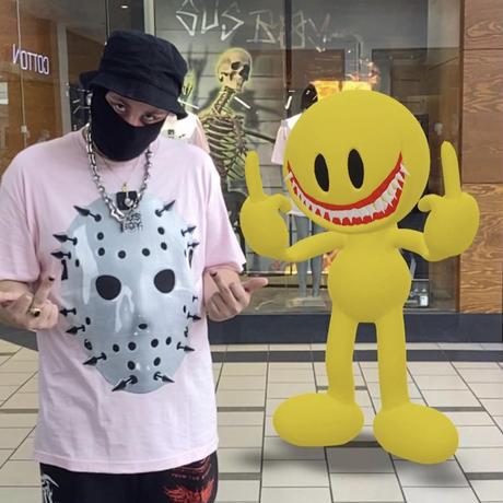 SUS BOY/Hockey Mask Tshirts Pink