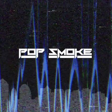 V LONE × POP SMOKE/CITY  Hoodie BLACK