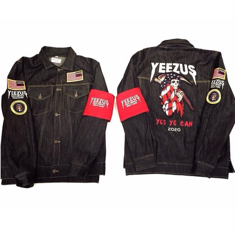 Nineteenth Letter /Yeezus campain Denim Jacket