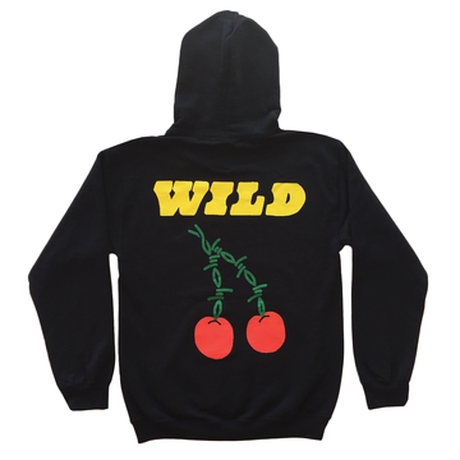 Petals and Peacocks/WILD Cherry Hoodie