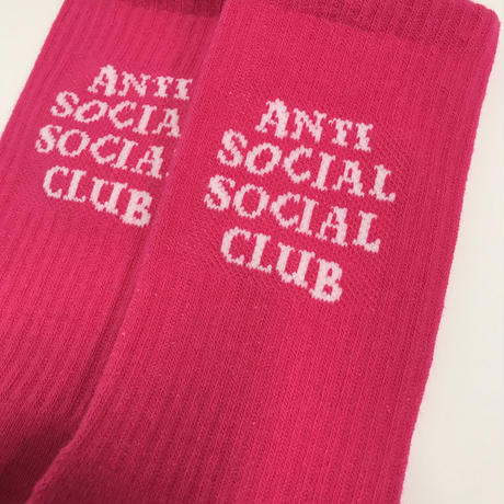 Anti Social Social Club/Logo SOCKS