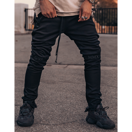 GUAPI/FUSION Track Pants ALL BLACK