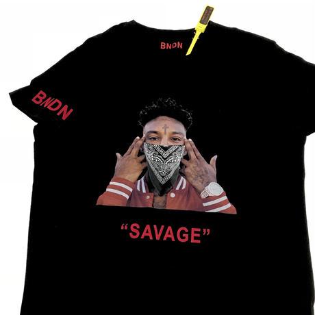 "BNDN WEAR/Hypebeast Icon  Tee  ""21 savage"""