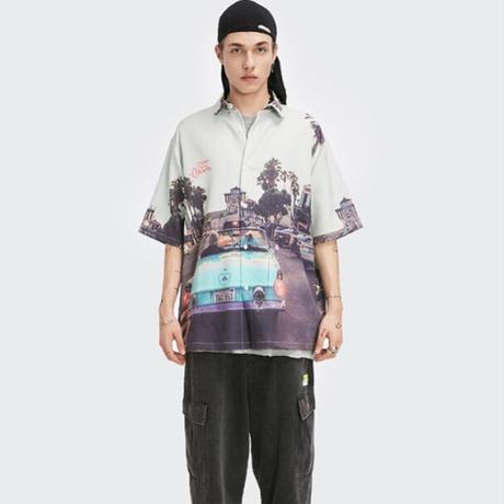 WOSS.official/ oversize vintege car shirts