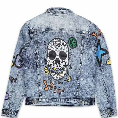 Reason Clothing Newyork/Alice watch denim Jacket