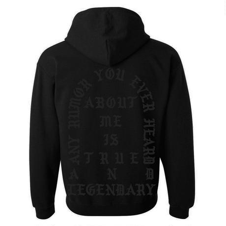 Pablo Tour/official hoodie フーディー ブラック