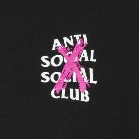Anti Social Social Club/XX Logo Tshirts  BLACK