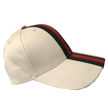 No Face No case/  green red line  Cap