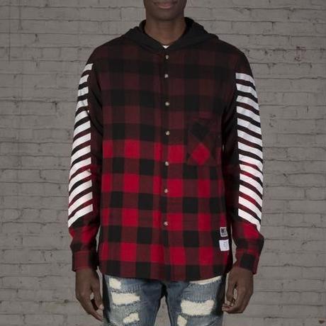 Reason Clothing Newyork/チェックシャツ