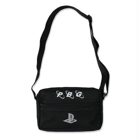Pretty Boy Gear/Play no game SHOULDER BAG  BLACK