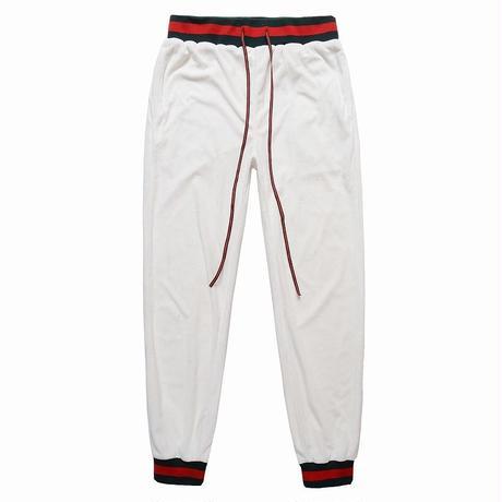 FNTY/VELVET PANTS WHITE