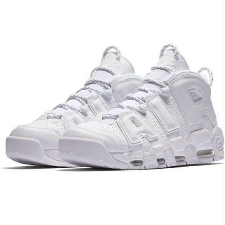 "Nike/Air more uptempo '96  ""triple white"""