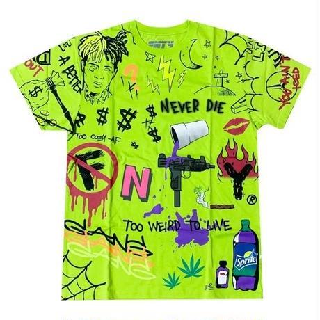FNTY/ Never Die Tshirts NEON Green