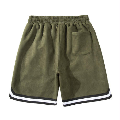 Mismatch NYC/SUEDE Shorts ARMY GREEN