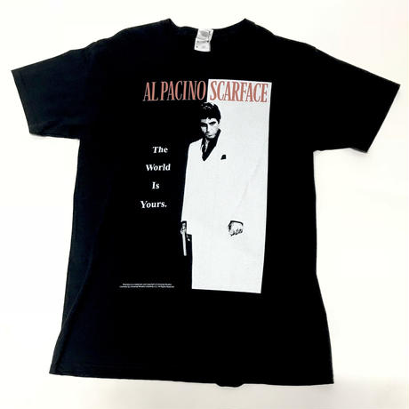 SCARFACE/official Tee ブラック