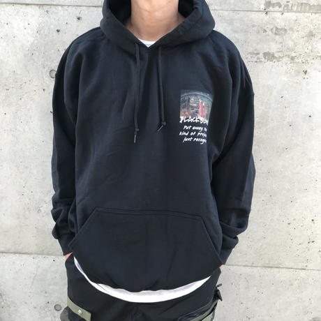Black Blond/BBD INFERNO HOODIE (BLACK)