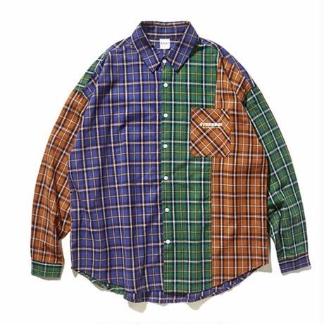 WOSS.official/patchwork shirt