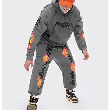 WOSS.official/FLAME Sweat Pants (set up)