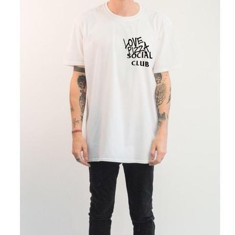No Perfect Italy/Love Pizza Social Club Tee White