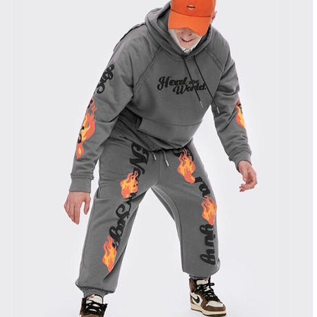 WOSS.official/FLAME Hoodie (set up)