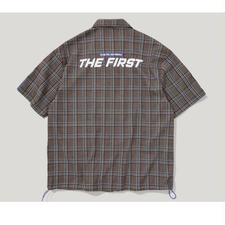 WOSS.official/Check Half sleeve Jacket