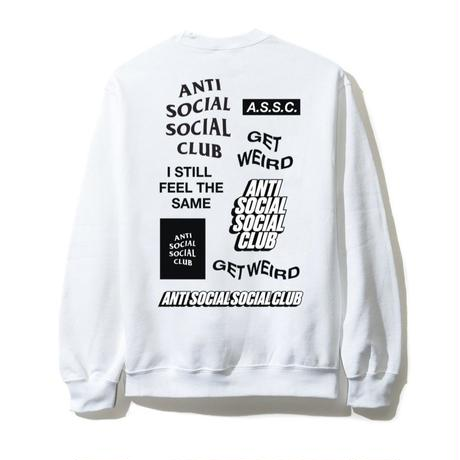 Anti Social Social Club/SS新作  Long Sleeve Tee ホワイト