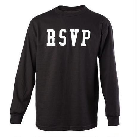 RSVP gallery/logo ロンTee ブラック