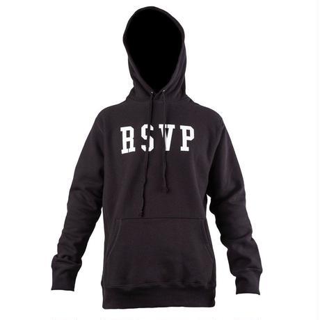 RSVP gallery/logo フーディー ブラック