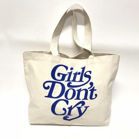 GIRLS DON'T CRY × SMETS/LOGO BIG TOTE BAG