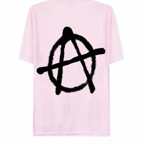 SUS BOY/LOGO Anarchy Tshirts  PINK